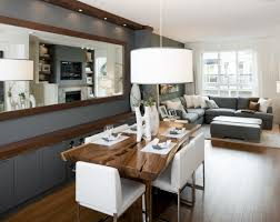 Dining Room Wall Mirrors by Big Drum Pendant Light For Small Grey Living Room And Dining Room