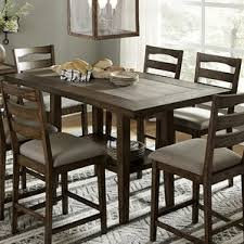 Counter Height Industrial Kitchen  Dining Tables Youll Love - Height of kitchen table