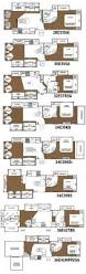 best rv floor plans 3 bedroom rv 5th wheel front living room fifth for with bath and