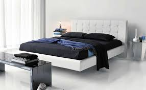 charmingly modern bedroom design ideas beauteous small master bedroom design with white leatherette floating beds which has tufted redcliffe headboard shapes