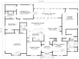 house plans two master suites one clever 4 one ranch house plans mastersuite plan