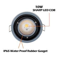 new colour changing led bulb ip65 fire rated downlight spotlight