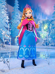 amazon disney frozen sparkle anna arendelle doll toys u0026 games