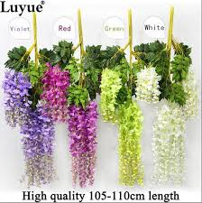 artificial flower wedding decoration silk flower garland artificial flower wisteria