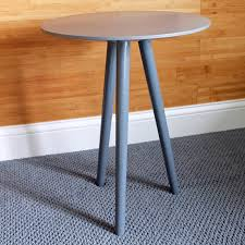 Diy Round End Table by Diy Tripod Table