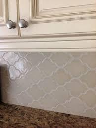 Arabesque Backsplash Tile by Arabesque Whisper White Matte Finish Beveled Lantern Wall Tile 8
