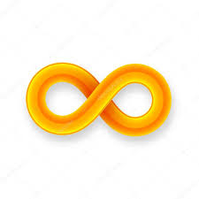 infinity sign orange infinity symbol icon u2014 stock vector sidmay 53335495
