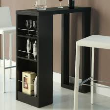 Kitchen Bar Table With Storage Rectangular Pub Table Kitchen Best Table Decoration