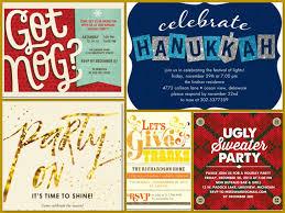 tiny prints fall u0026 winter holiday party invitations halloween
