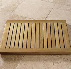 Teak Bath Mat Grade A Teak Wood 24x18 Floor Mat Door Shower Pool Bath Room Spa