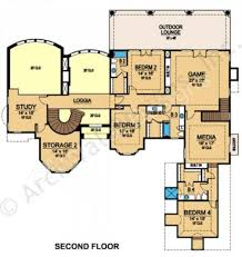 Spanish House Plans Spanish Oaks Residential House Plans Luxury House Plans