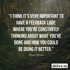 9 quotes about feedback along with images