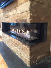 montigo 3 sided fireplace youtube with peninsula gas fireplace