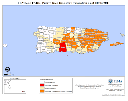 Where Is Puerto Rico On A Map by Puerto Rico Hurricane Irene Dr 4017 Fema Gov