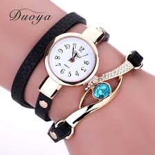 luxury bracelet watches images Duoya new brand eye gemstone luxury watches women gold bracelet jpg