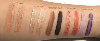 l u0027oreal infallible paints eyeshadow swatches review collective