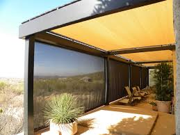Pergola Sun Shades by Residential Custom Products Air And Sun Shade Products