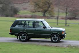 2000 land rover green range rover classic