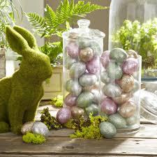 glitter easter eggs 10 easter table setting ideas the kitchenist