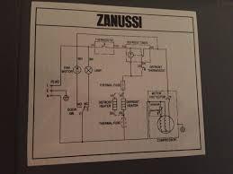 uk whitegoods u2022 view topic zanussi zrb324nxo warm fridge