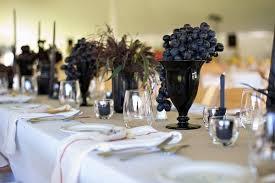 dã coration de table de mariage mariage sur le thème du vin et de la vigne couleur mariage