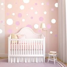 Nursery Polka Dot Wall Decals Trendy Wall Designs - Polka dot wall decals for kids rooms