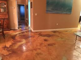 bright ideas staining basement floor stained concrete cost