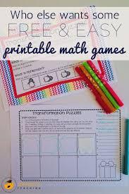 best 25 easy math games ideas on pinterest math games grade 1