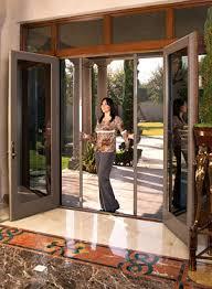 Center Swing Patio Doors Retractable Screens For Doors Stoett Industries Renovations