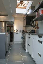 chef kitchen ideas a sleek modern chef u0027s kitchen in this extension of a victorian