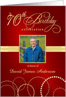 70th birthday invitations from greeting card universe