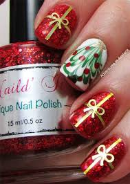 40 inspirational winter nails designs 2016 christmas trees