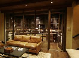 wine cellar living spaces and in home wine racks