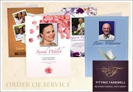 Funeral Stationery Fitting Farewell Ltd Bespoke Funeral Stationery Printers