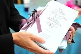 wedding programs with ribbon wedding program trends wedding stationery inside weddings