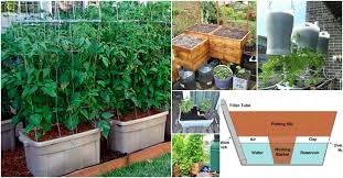 diy planters 15 diy self watering planters that make container gardening easy