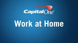 a work at home career with capital one youtube