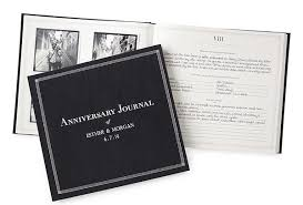 wedding gift journal wedding gift idea the personalized anniversary journal shop