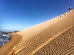native plants grow on the sand dunes at this beach stock photo colombia u0027s la guajira desert is attracting visitors cnn travel