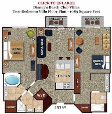 disney boardwalk villas floor plan boardwalk villas one bedroom floor plan best of studios at disneys