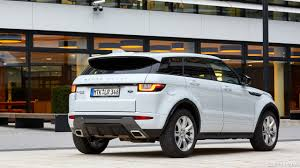 range rover evoque rear 2016 range rover evoque hse td4 in yulong white rear hd