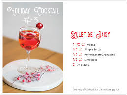 holiday cocktails png cheers to christmas ecochic