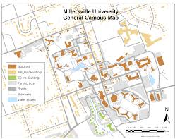 Miami Dade North Campus Map by Millersville Campus Map My Blog