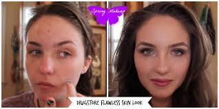 acne transformation makeup how i cover my acne pimples redness and scars you