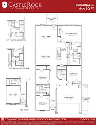 pedernales cobalt home plan by castlerock communities in etteridge