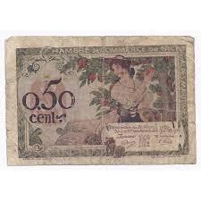chambre de commerce 06 chambre de commerce 50 centimes 1920 beau