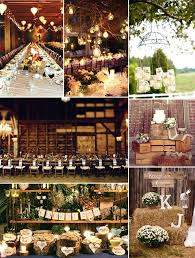 Lovely Country Wedding Reception Decoration Rustic Wedding Rustic