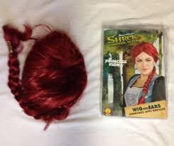Fiona Halloween Costume Princess Fiona Shrek Red Wig Ears Halloween