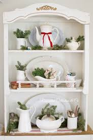 french christmas decorating shelves french country home decor