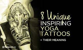 yoga tattoo pictures 10 yoga based tattoo ideas yogis are all about right now